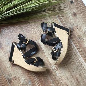 Liz Claiborne wedges sandals nwot
